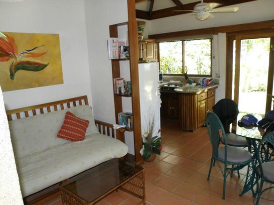 Casa Cook: living area