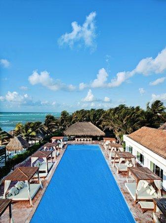 El Dorado Sensimar Riviera Maya : Pool view