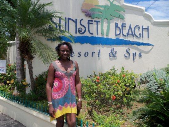 Sunscape Splash Montego Bay: Me at the entrance