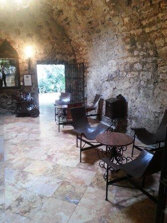 Hotel Hacienda de Cortes : Bar