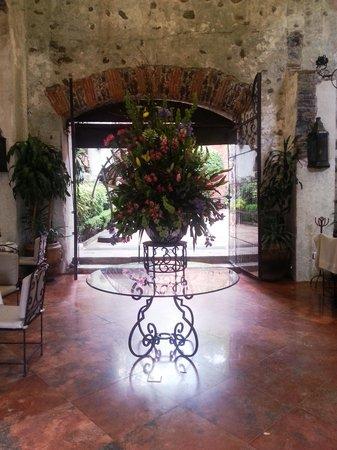 Hotel Hacienda de Cortes : Restaurante
