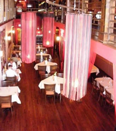 Lime Leaf Thai Fusion : A view from The Upper Level