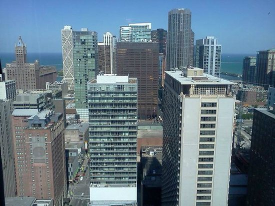 Chicago Marriott Downtown Magnificent Mile: The view from my hotel!