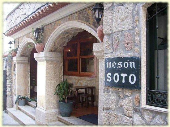 Restaurante Meson Casa Soto: La entrada