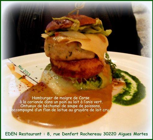 Eden : plat surprenant, délicieux