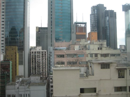 The Charterhouse Causeway Bay Hotel: View from my room