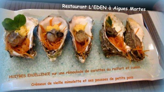 Eden restaurant : le chef a osé ! hum