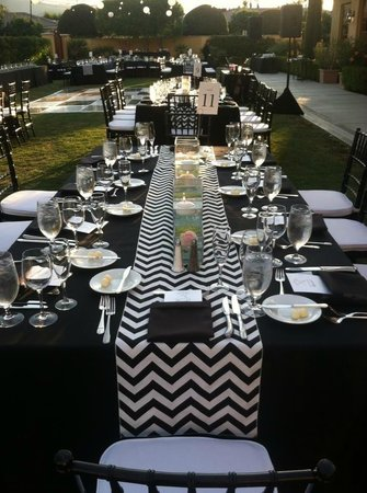 Miramonte Resort & Spa: Our tables