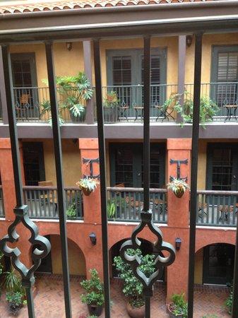 Hotel Valencia Riverwalk: Interior Courtyard