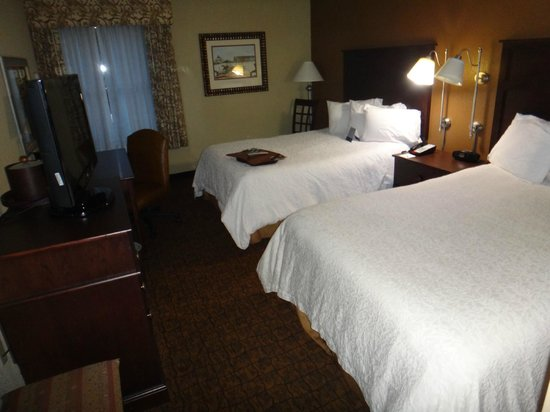 Hampton Inn Baltimore - Washington International Airport: Room 216 - 2 Queens