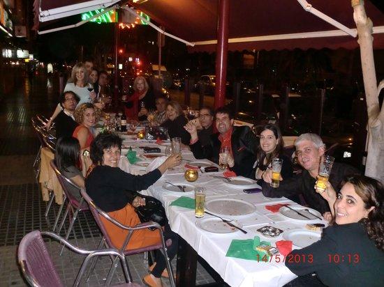 Restaurante o sole mio en las palmas de gran canaria con for O sole mio mesa y lopez