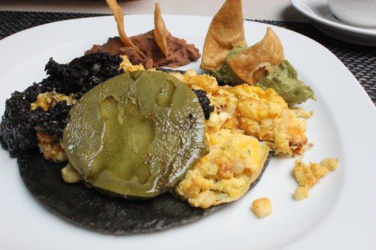 Casona de la China Poblana : breakfast