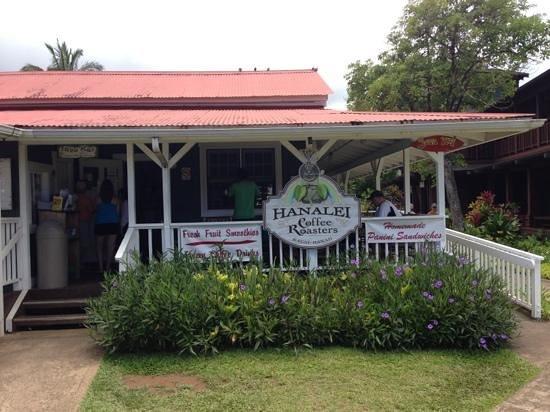 Hanalei coffee roasters