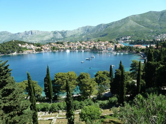 Hotel Croatia Cavtat: The view from the terrace