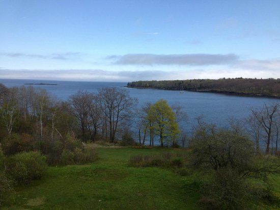 Ledges By the Bay: From the deck.