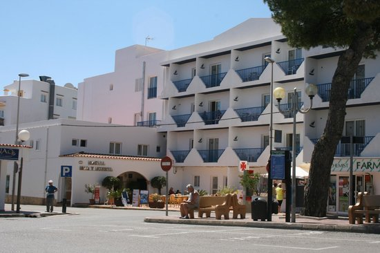 Hostal Mar y Huerta : we stayed first floor second from left room 109