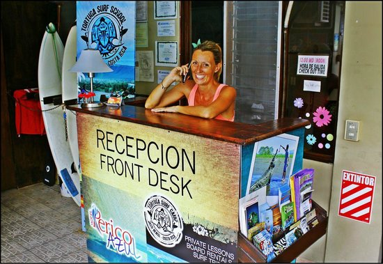 Hotel Perico Azul: Our Operations manager