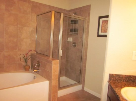 Bella Piazza Condominiums: Master bath