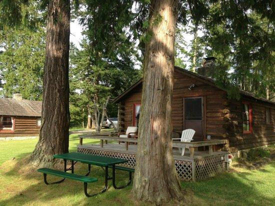 Lonesome Cove Resort: cabin 4 –Sucia