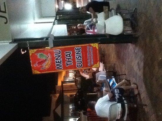 Menu Thai Restaurant: Dinner time