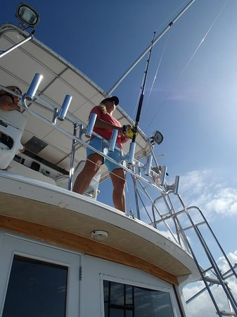 Panoply Sport Fishing & Luxury Charters: Captain Delphine