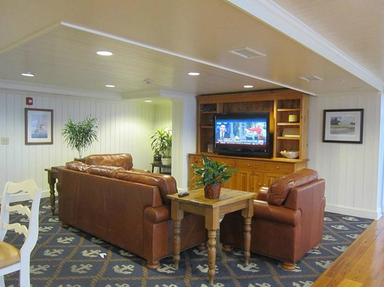 view from foyer picture of hampton inn suites myrtle. Black Bedroom Furniture Sets. Home Design Ideas