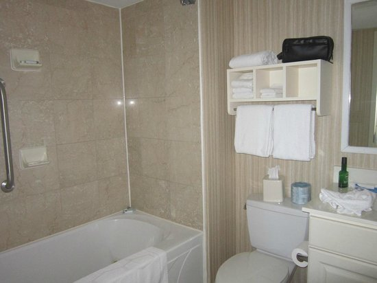 Hampton Inn & Suites Myrtle Beach/Oceanfront: bathroom