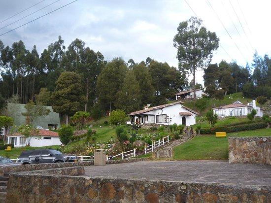 Hotel Colonial Paipa: Cabañas