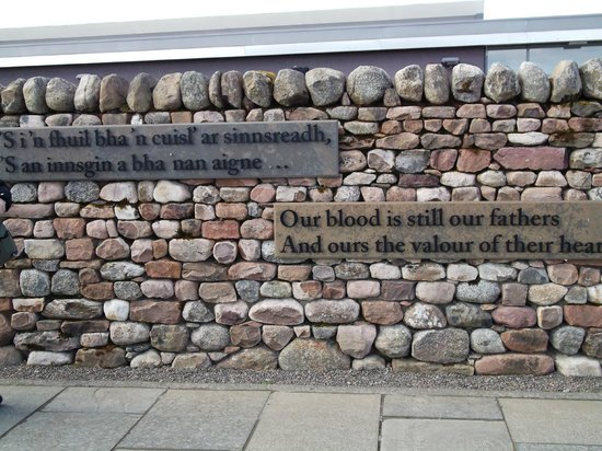 Culloden Moor, UK: The Visitor Center