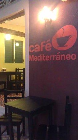 Cafe Mediterraneo: welcome!!