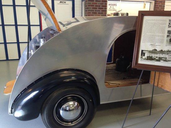 Jack Sisemore Traveland RV Museum: 1946 Tear Drop Kit...