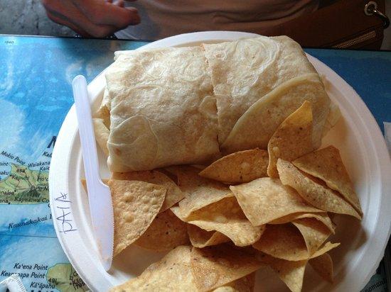 Maui Tacos: Paia burrito