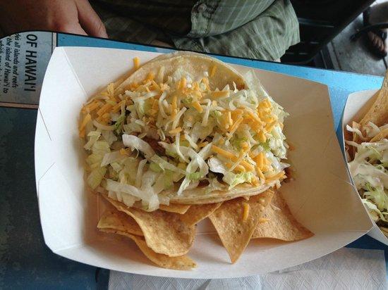 Maui Tacos: Maui taco