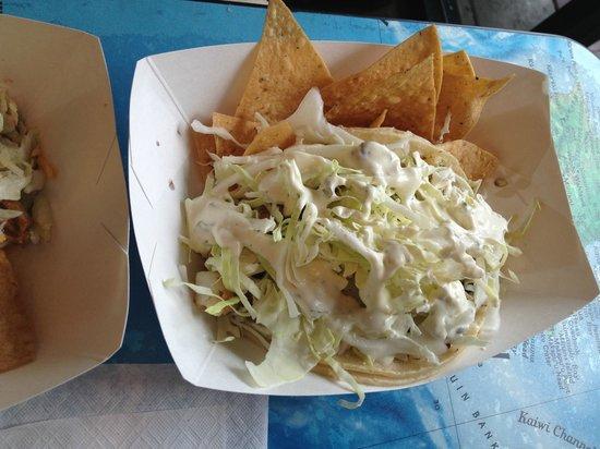 Maui Tacos: fish taco