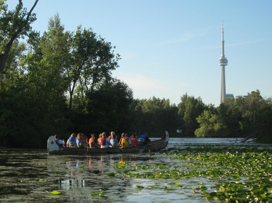 Culinary Adventure Co.: Take a beautiful canoe paddle to Toronto Islands and enjoy a gourmet picnic!