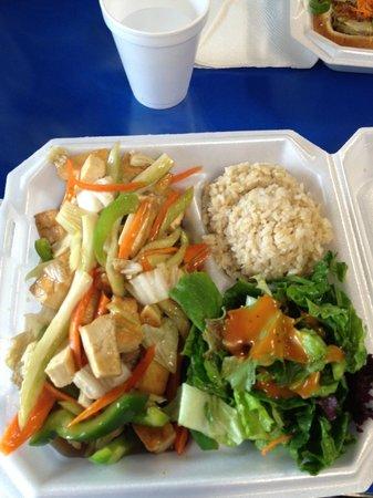 Dean's Drive-Inn: vegetarian fried rice