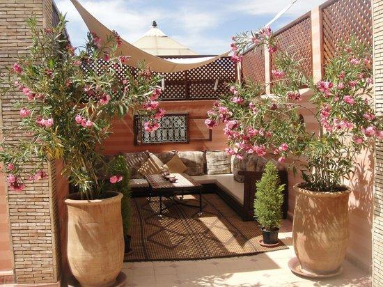 Riad de la Belle Epoque: Roof-top terrace