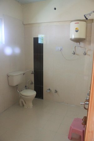 Snow Lion Hotel: Bathroom