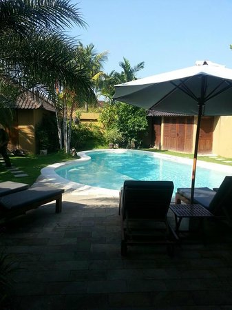 Dyana Villas: Lovely private pool!