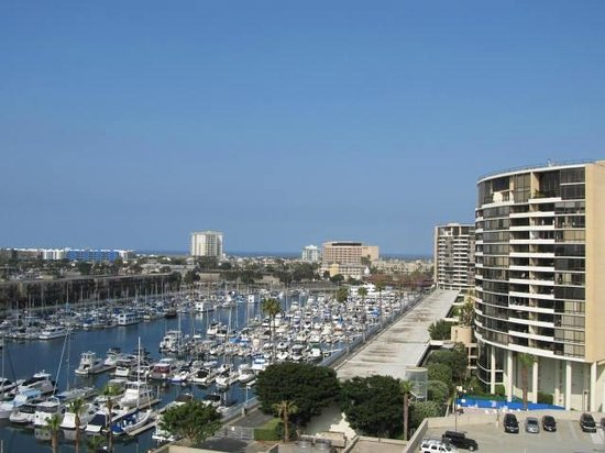The Ritz-Carlton, Marina del Rey: View from our room on the ninth floor