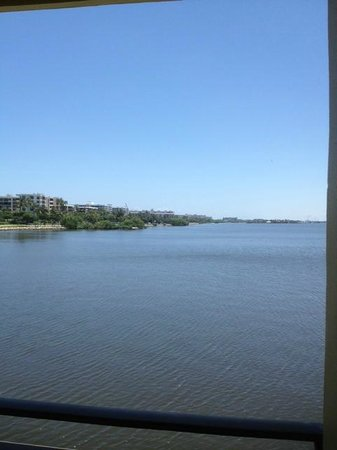 Palm Beach Waterfront Suites: View from Terrace