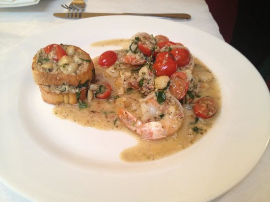 Gino's Pizza: Garlic Shrimp