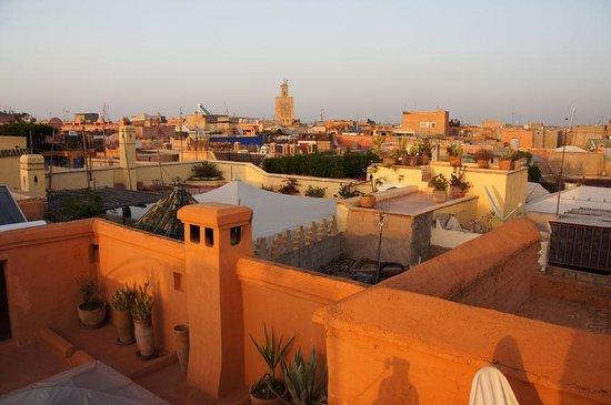 Dar el Qadi : View from terrace/tower