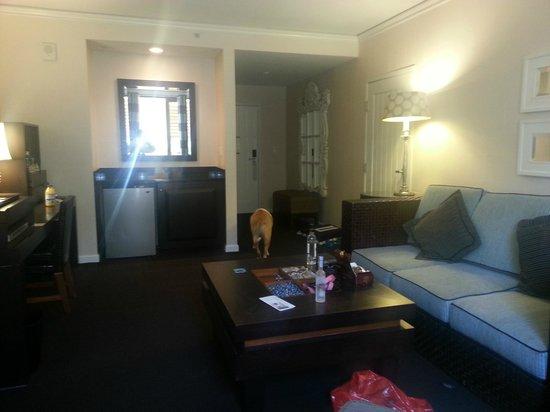 Kimpton Solamar Hotel: Masters Suite living area