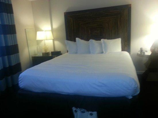 Kimpton Solamar Hotel: Masters Suite king bed