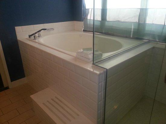Kimpton Solamar Hotel: Ginormous tub