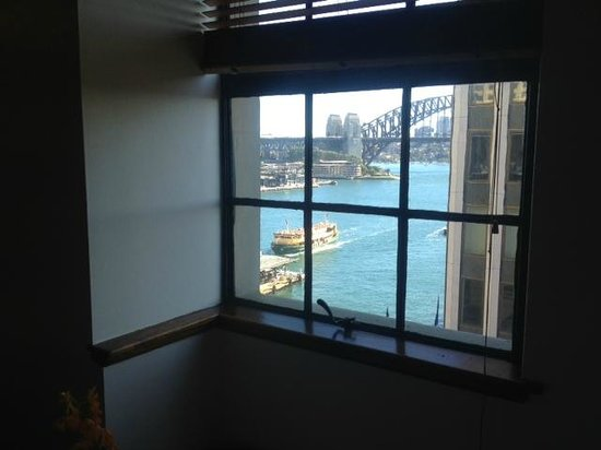 The Royal Automobile Club of Australia Accommodation: view from dining room