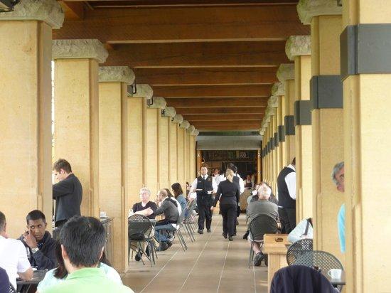 Terrace Restaurant: Wonderful setting