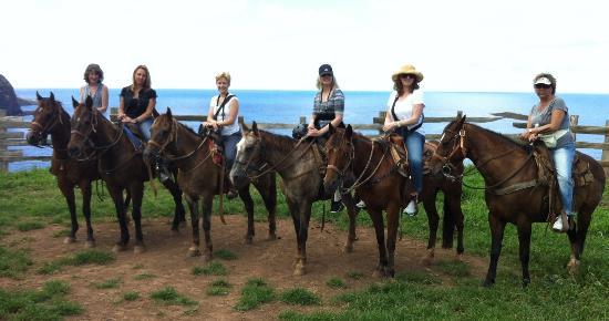 Mendes Ranch: Photo op - thanks Trevor!