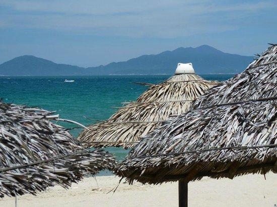 Cham Islands viewed from Cua Dai Beach, Hoi An